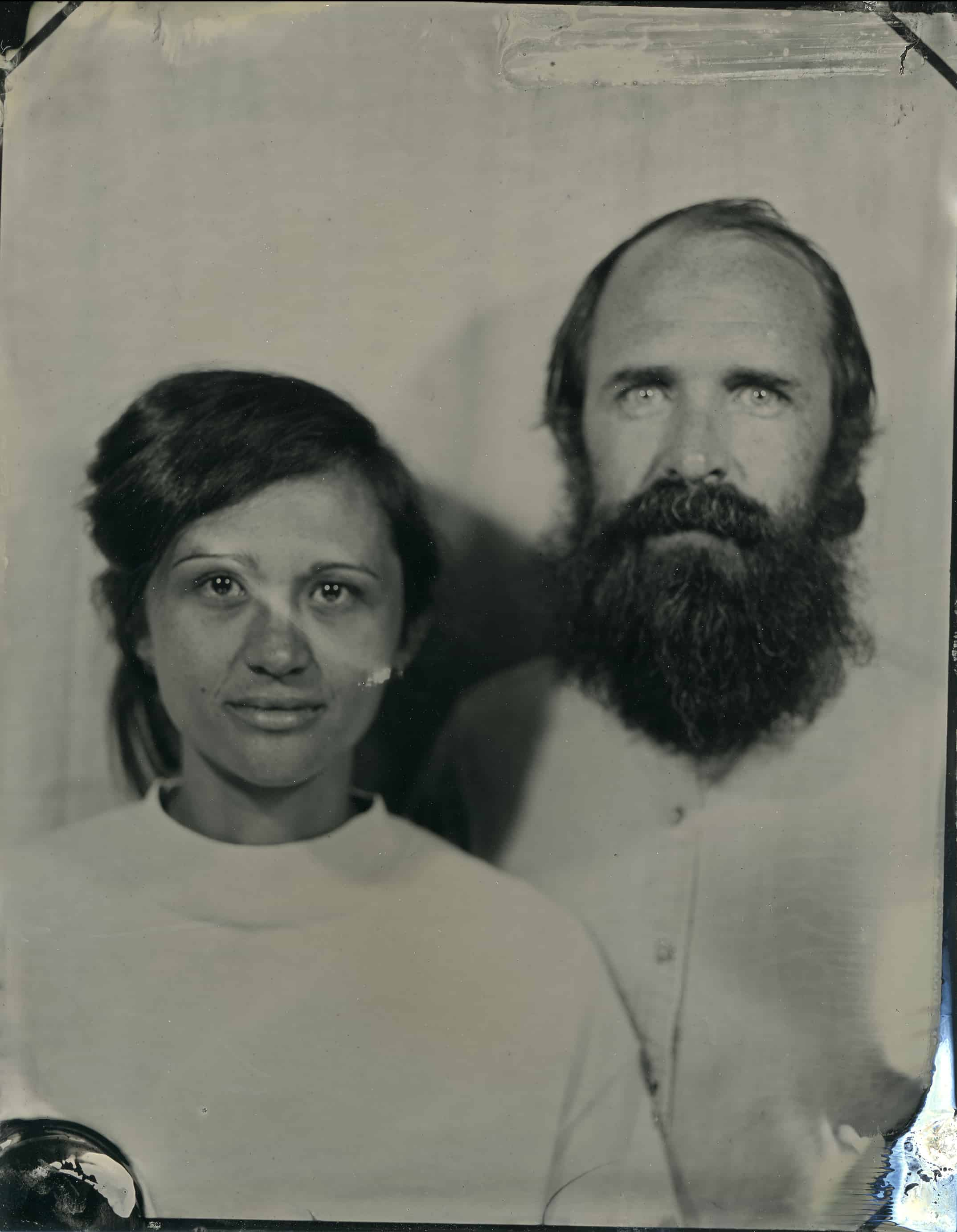 Tintype Portrait created in Athens, Georgia by Kate Lamb of Wild in Love Photo