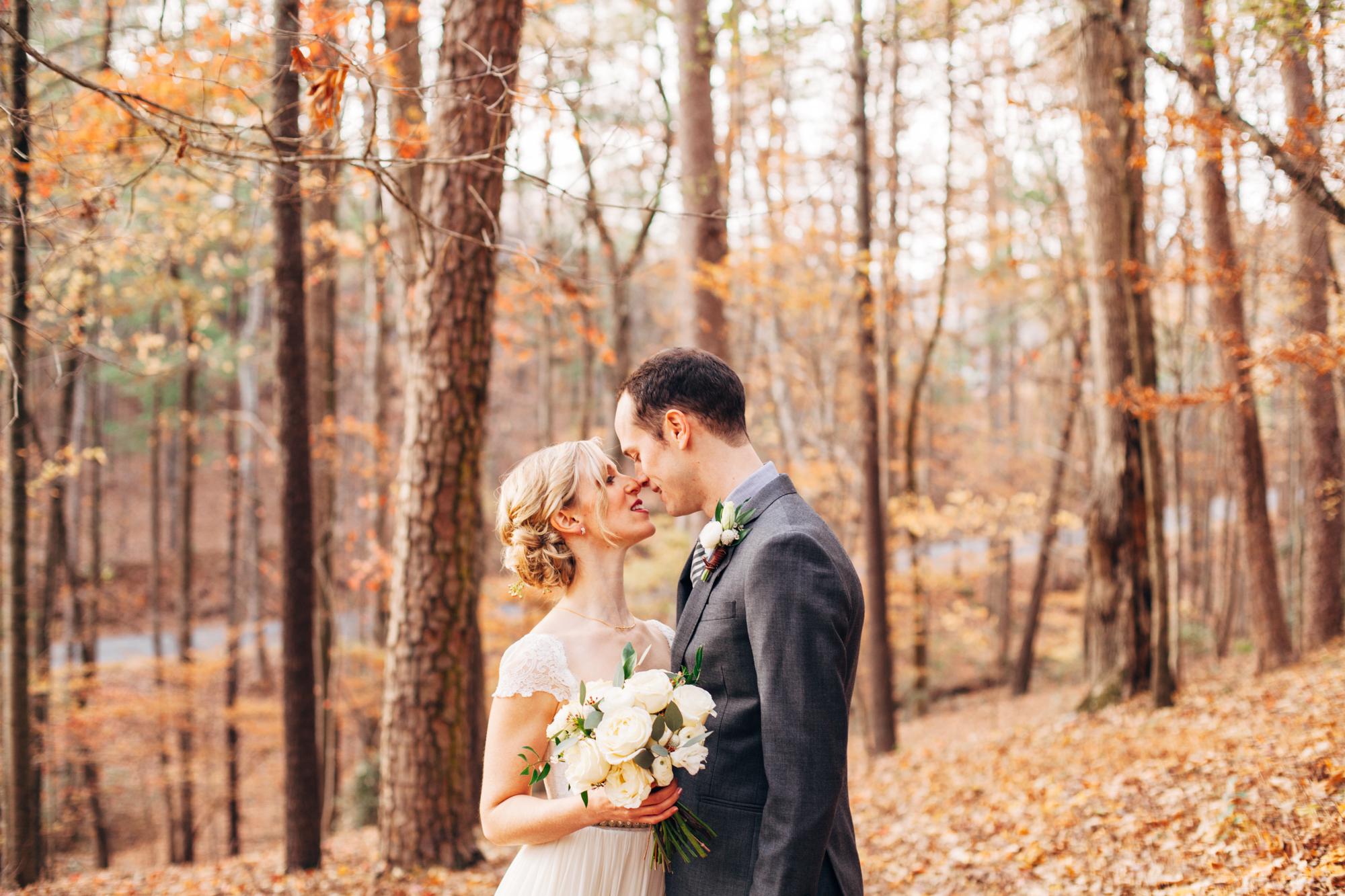 fall mountain georgia wedding