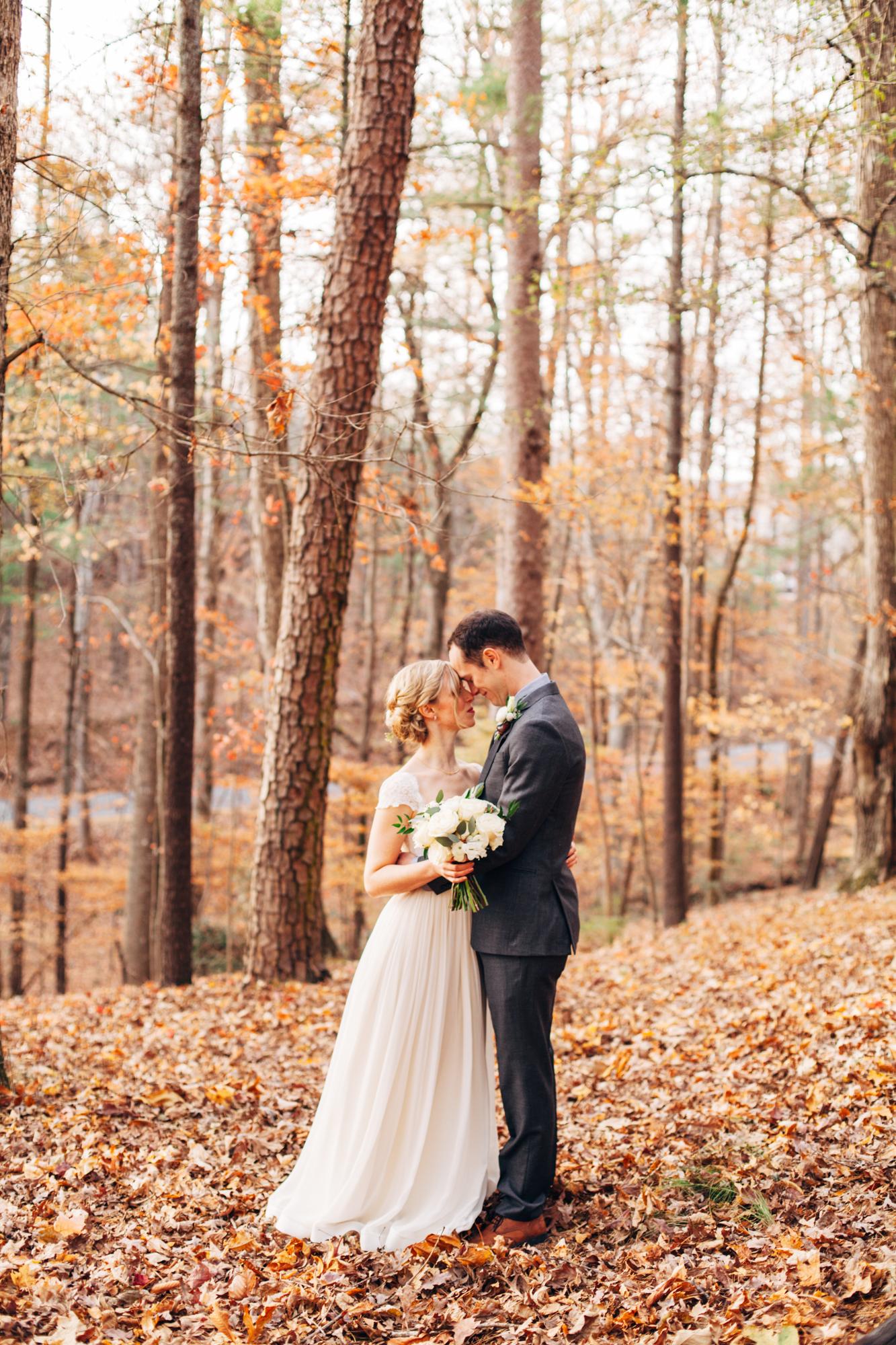 fall north georgia wedding