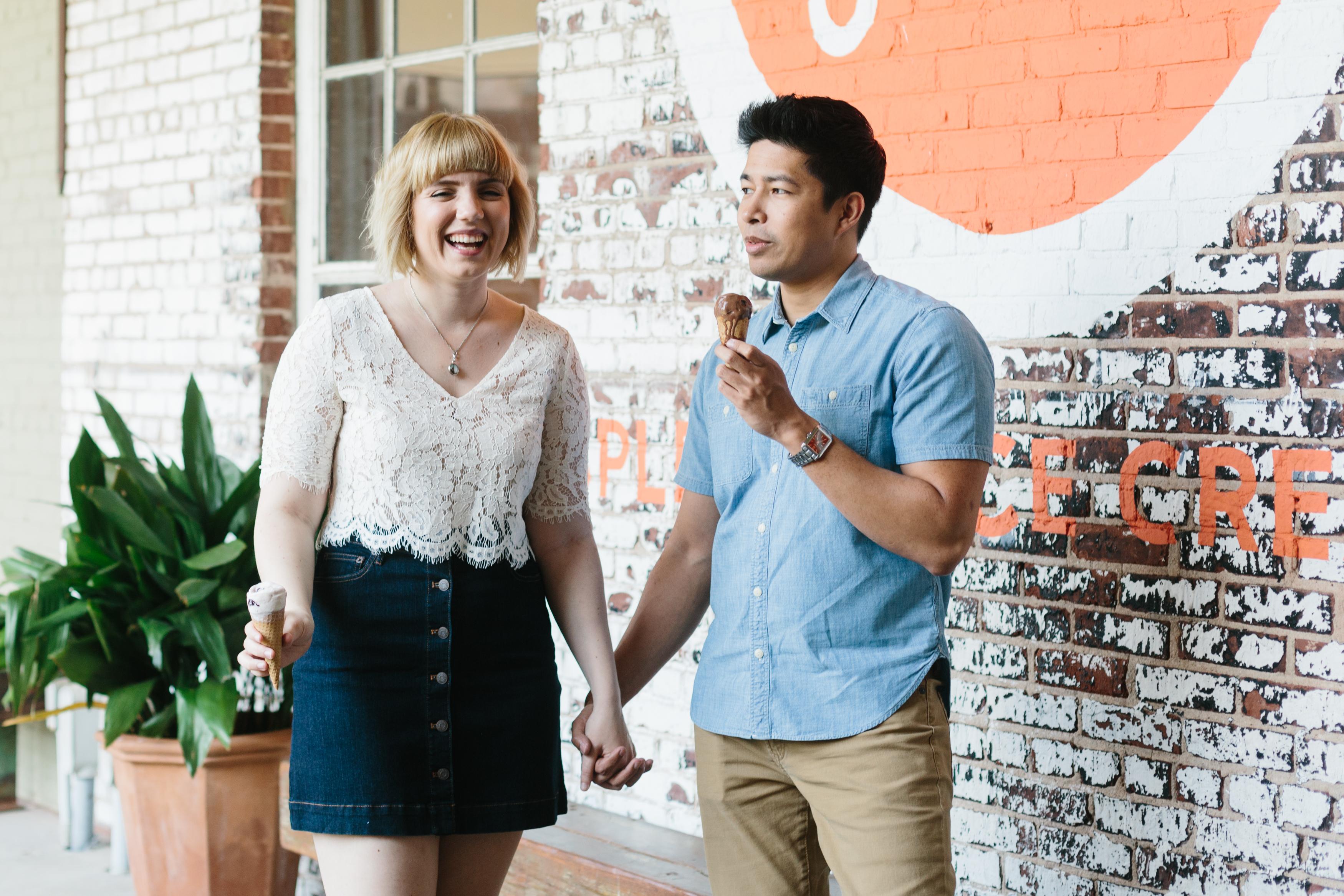 jenis ice cream engagement