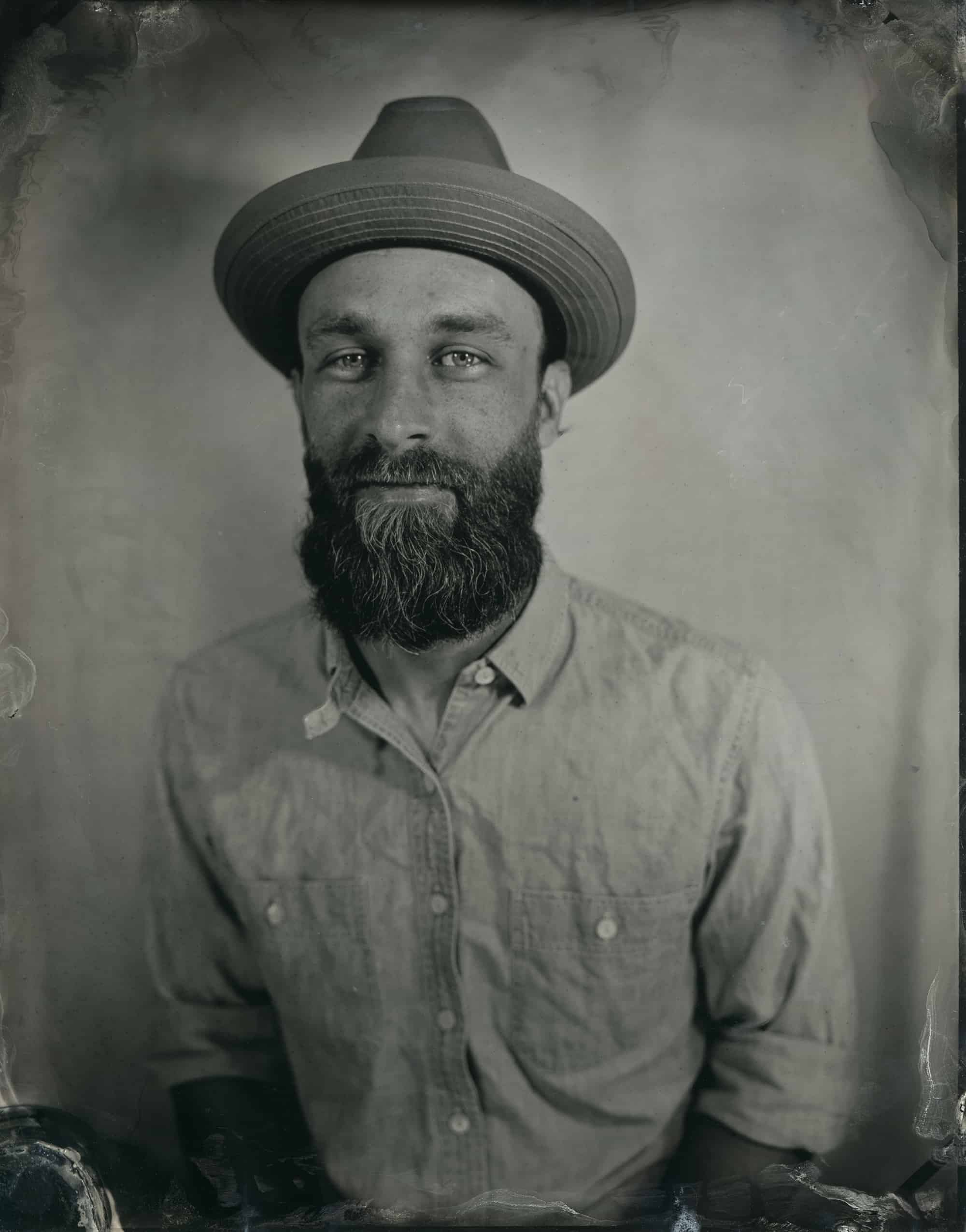 Tintype Portrait created in Atlanta, Georgia by Kate Lamb of Wild in Love Photo