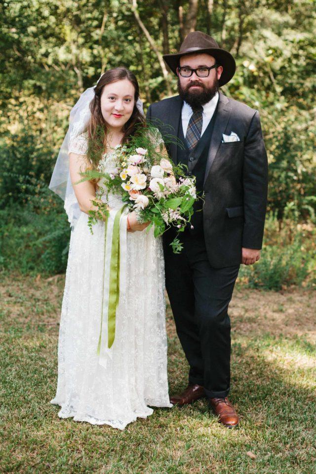 backyard wedding venue in Georgia by Kate Lamb of Wild in Love Photo