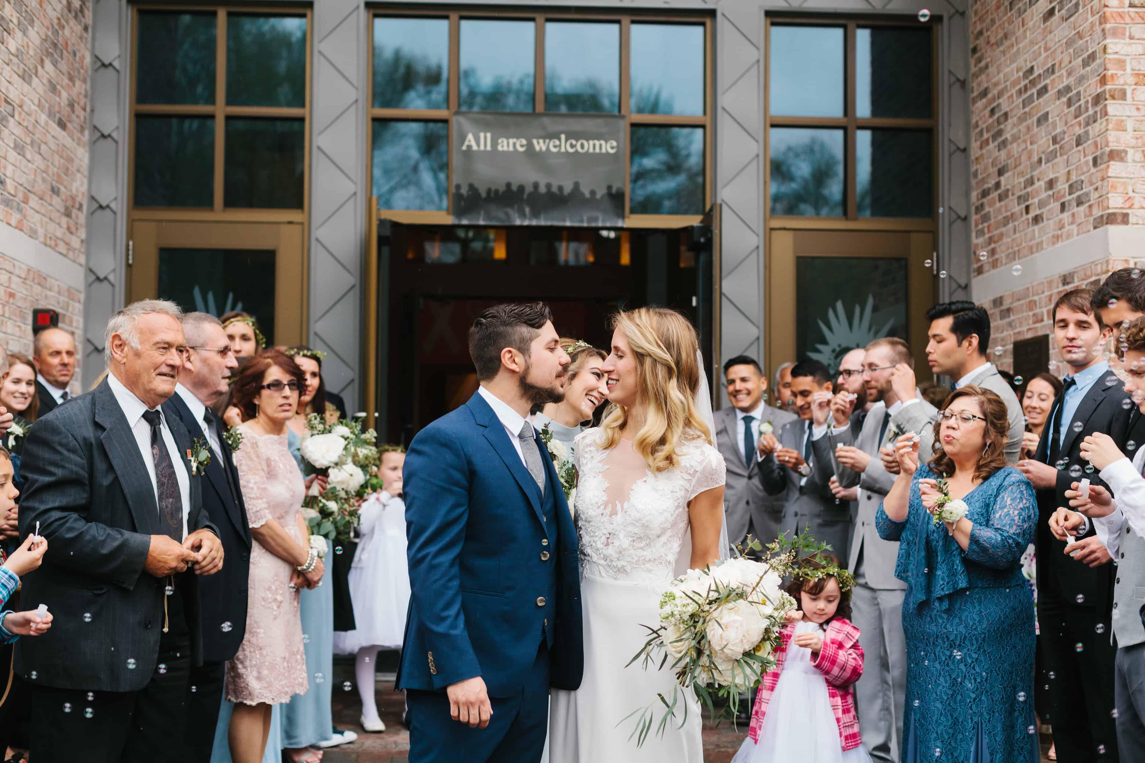 outdoor New Jersey wedding