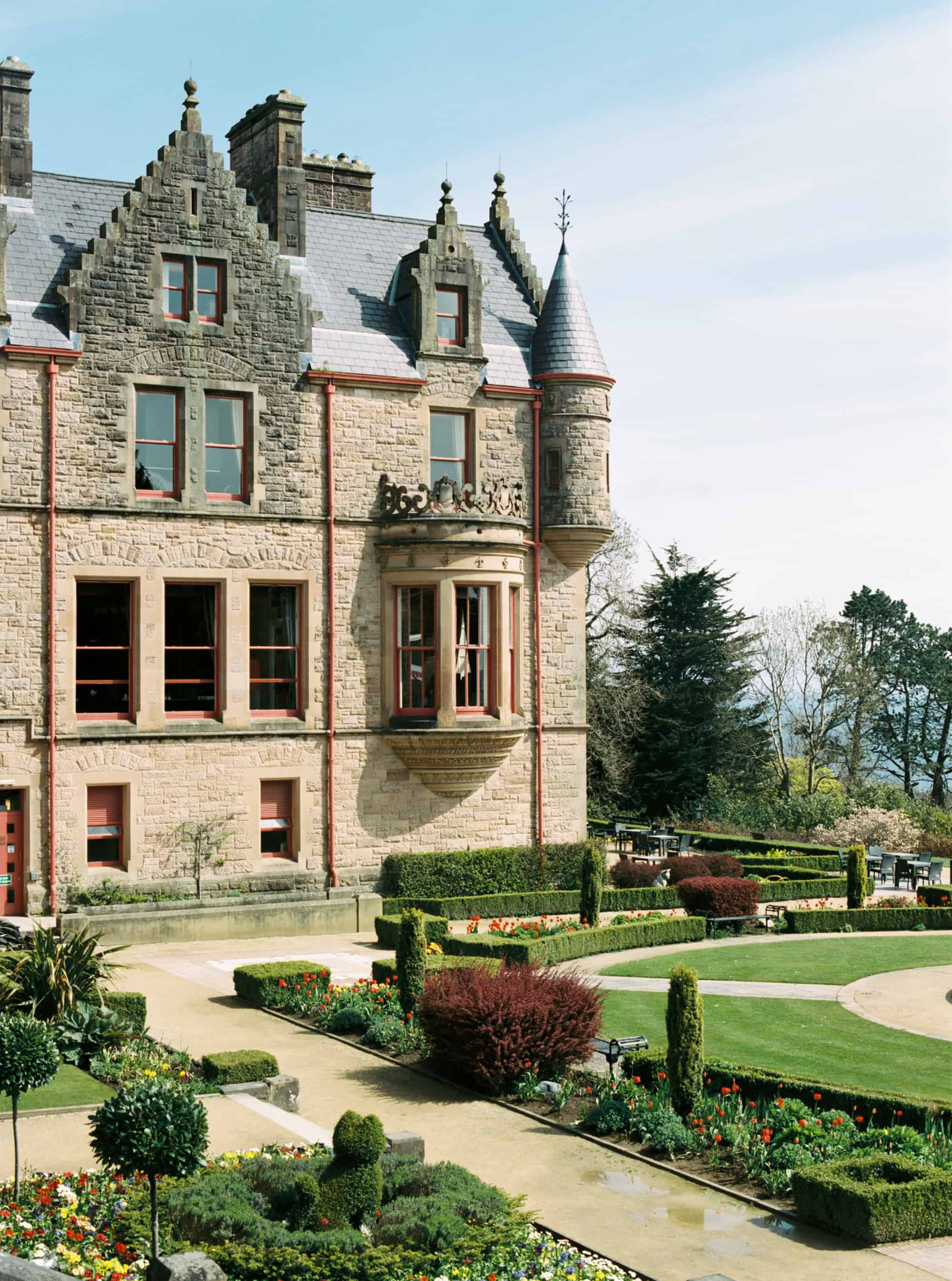Belfast Castle in Belfast, Northern Ireland photographed on film by Kate Lamb of Wild in Love Photo