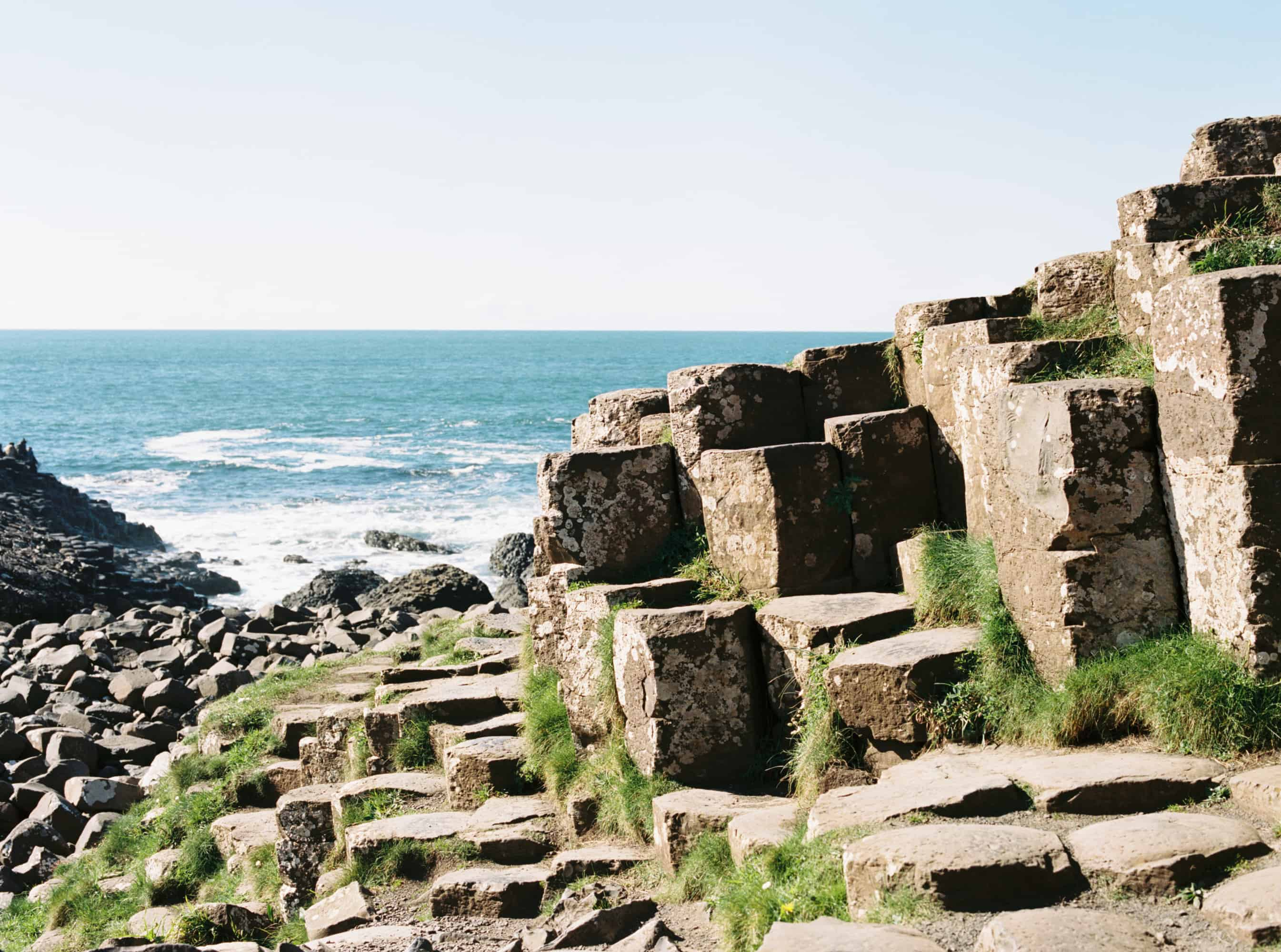 Giants Causeway Northern Ireland photographed on film by Kate Lamb of Wild in Love Photo