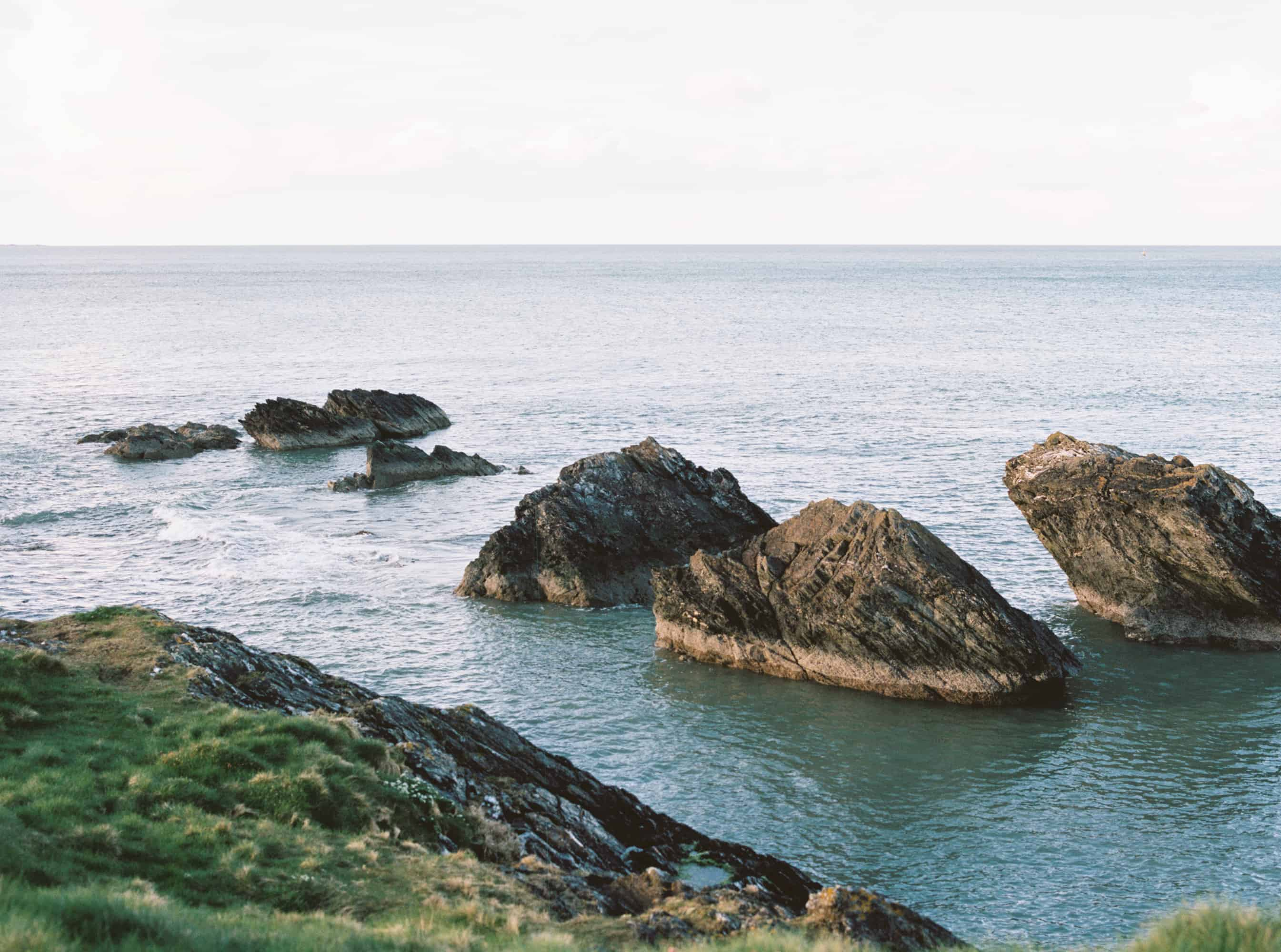Coast of Wicklow, Ireland photographed on film by Kate Lamb of Wild in Love Photo.