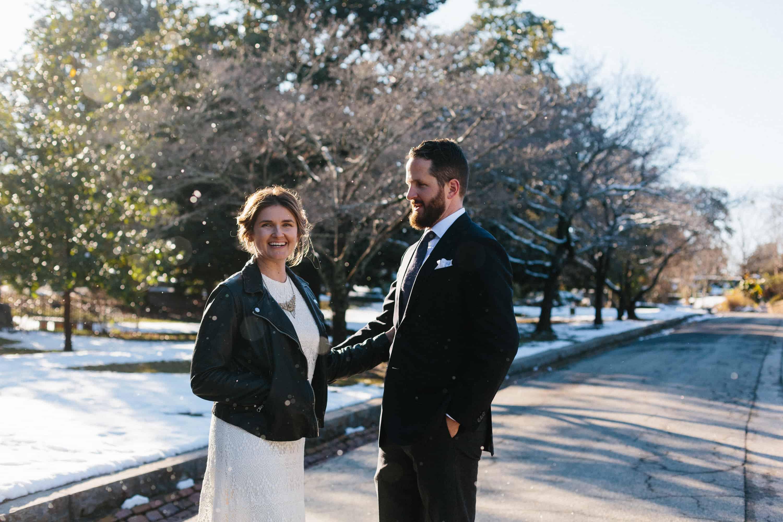 winter wedding atlanta