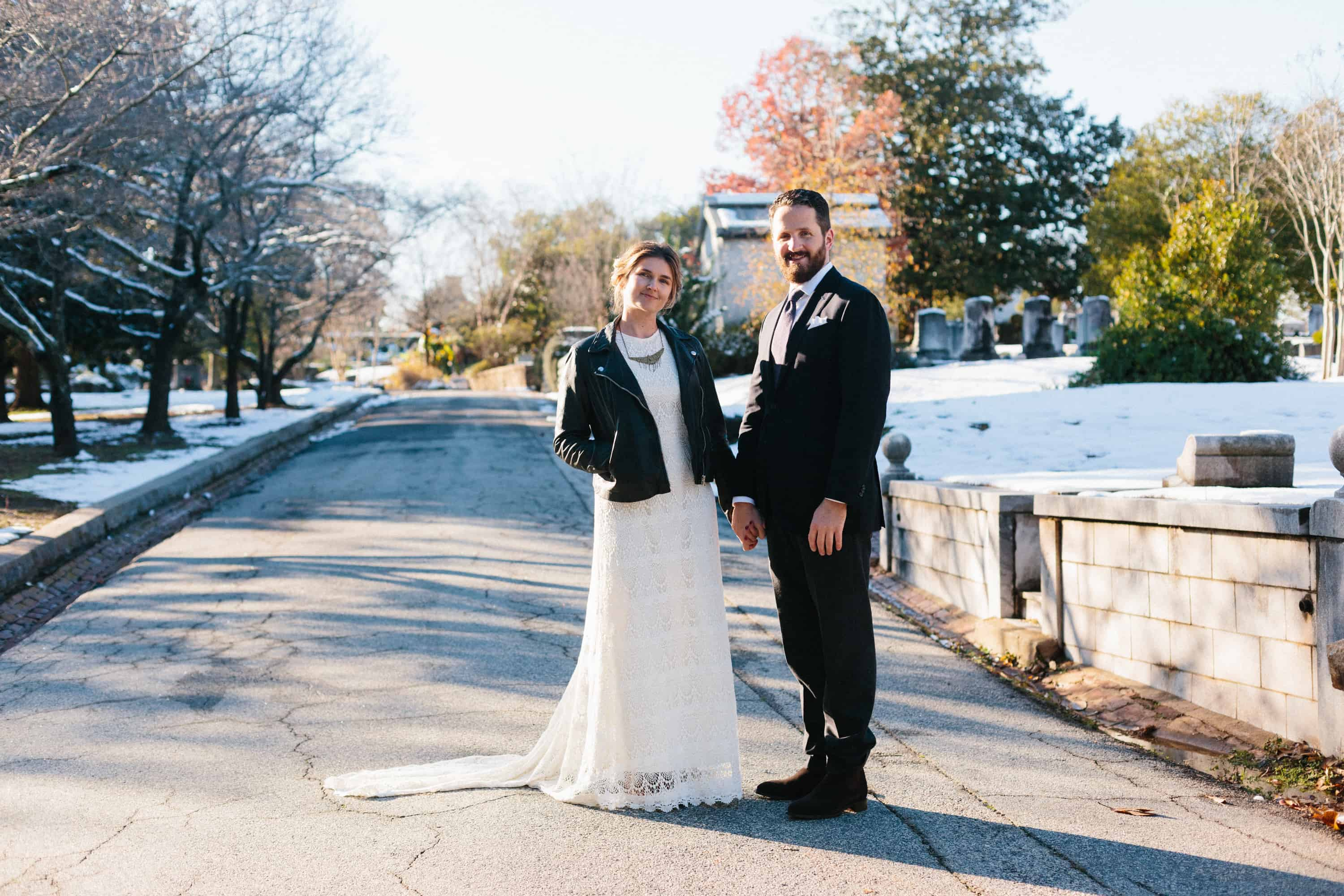 atlanta winter wedding