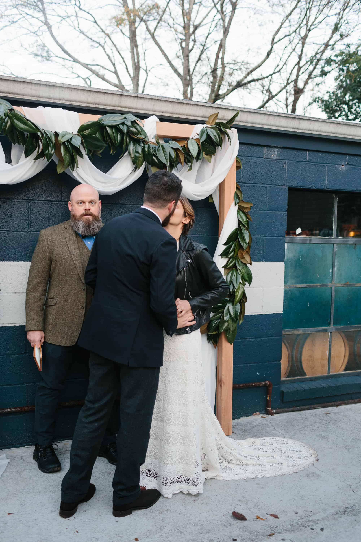 nontraditional atlanta wedding