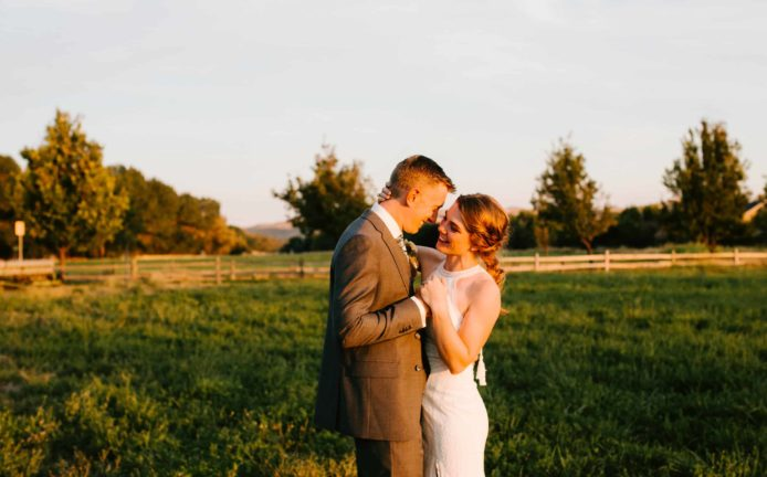 Hidden Springs Idaho Wedding
