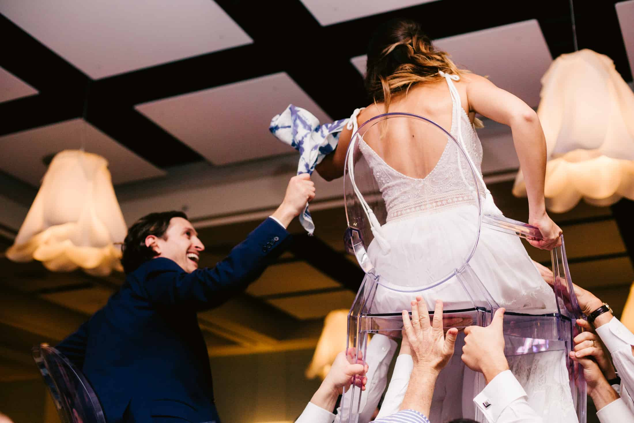 atlanta jewish wedding horah