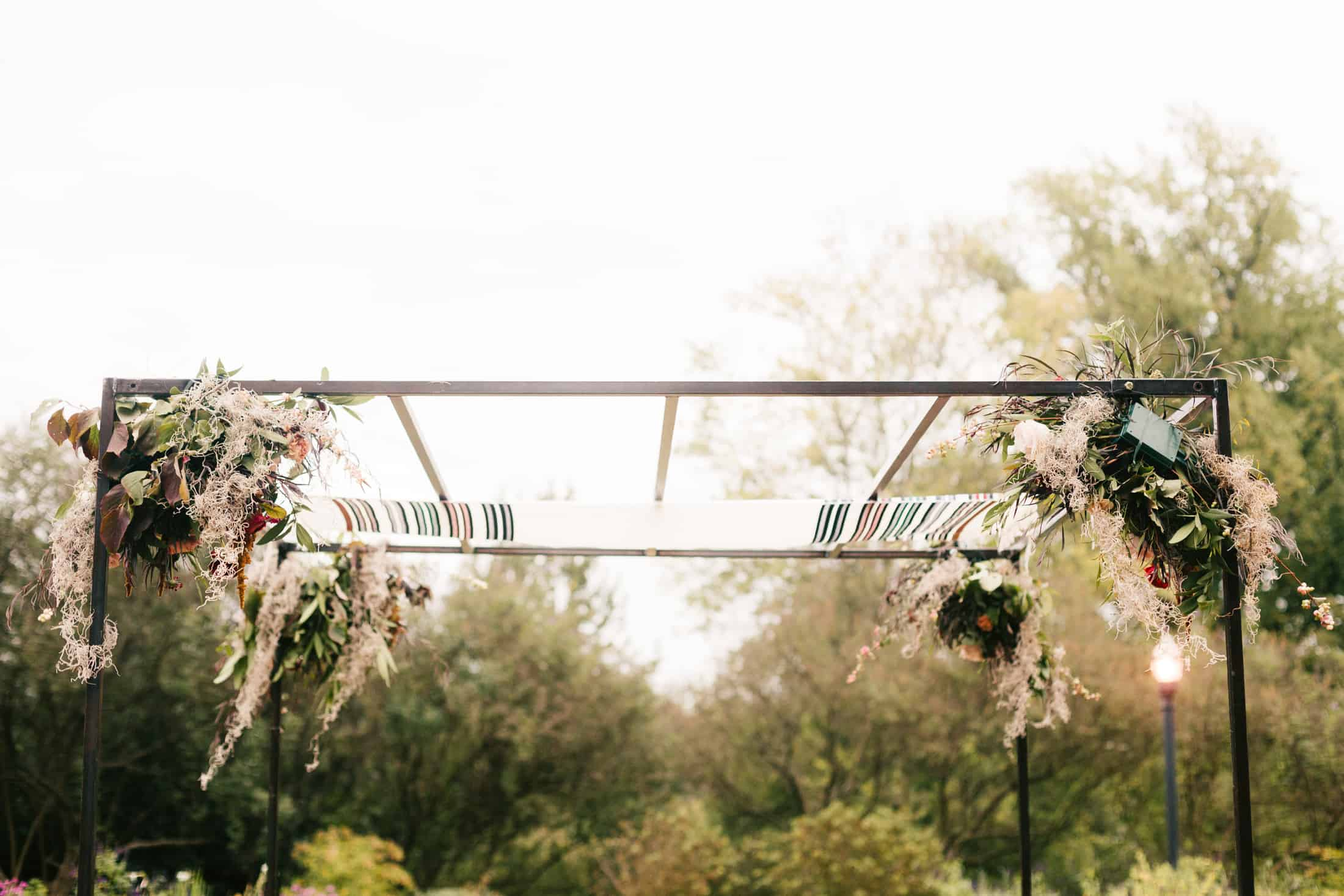 atlanta jewish wedding chuppah