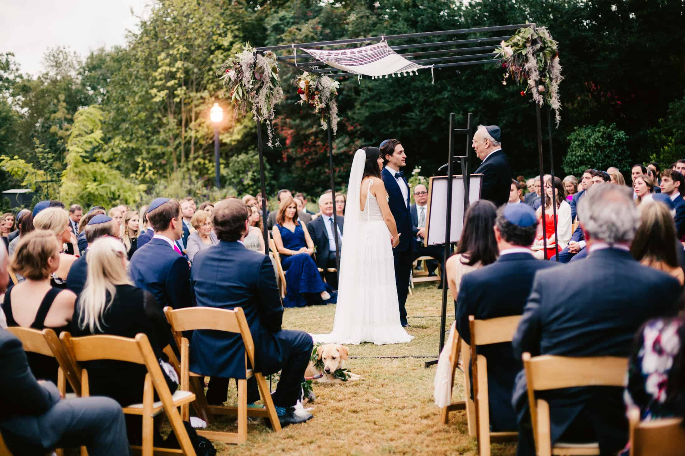 atlanta outdoor jewish wedding